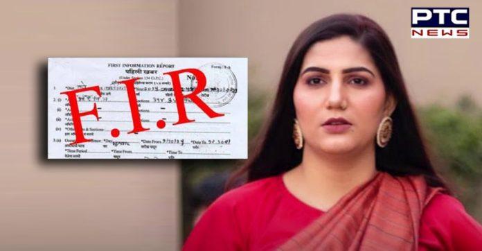 Delhi Police files FIR against Sapna Chaudhary; here's why