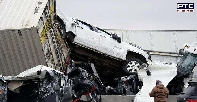 US Texas Interstate Crash: Six people killed while dozens injured after a crash on I-35W northbound near US' Fort Worth on Thursday morning.