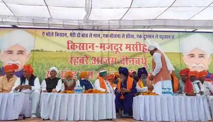 Farmer Leader Rakesh Tikait