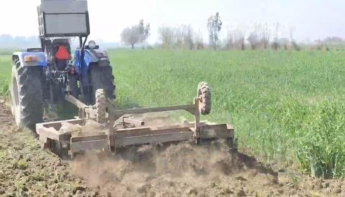 Farmer Destroyed his Crop
