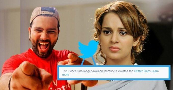 Twitter war on farmers protest: Kangana Ranaut slams Rohit Sharma; tweet taken down