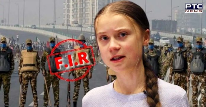 Delhi Police files FIR against Greta Thunberg over tweets on farmers' protest