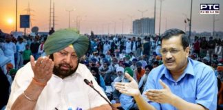 Captain Amarinder Singh questions Arvind Kejriwal over failure to stop city's roads being barricaded