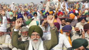 Farmers Protested
