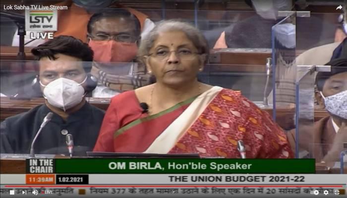 Union Budget 2021 Announcement