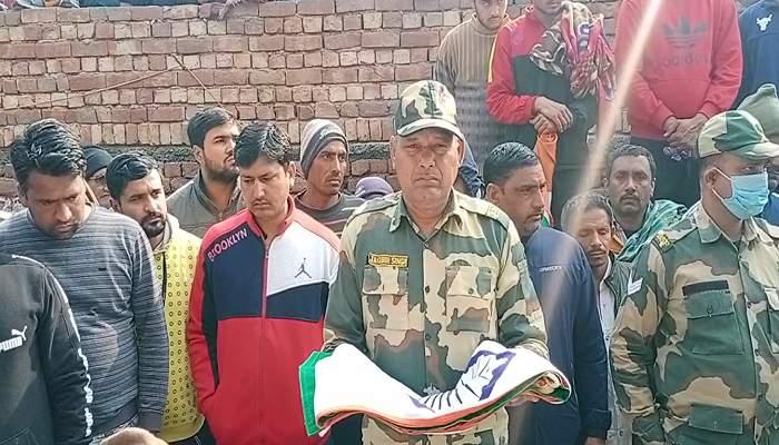 Satish Kumar martyred in Jammu Kashmir