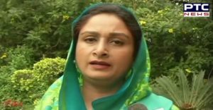 Harsimrat Kaur Badal demands centre and Pb govts reduce prices of petroleum products by Rs five per litre each