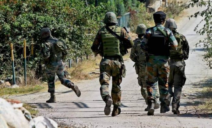 Terrorists attacked a police party in Barzulla area of district Srinagar, 2 jawans killed