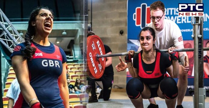 Karenjeet Kaur Bains, first Sikh woman to represent Great Britain in Powerlifting