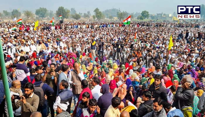 Kisan mahapanchayat today at Rally Ground in Chandigarh । Farmers Protest