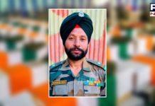 Punjab CM announces govt job for family member of martyr Naib Subedar Parwinder Singh