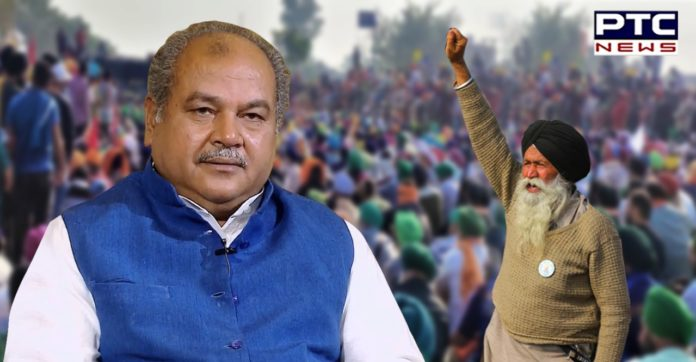 Crowd gathering doesn't lead to revocation of farm laws: Narendra Singh Tomar