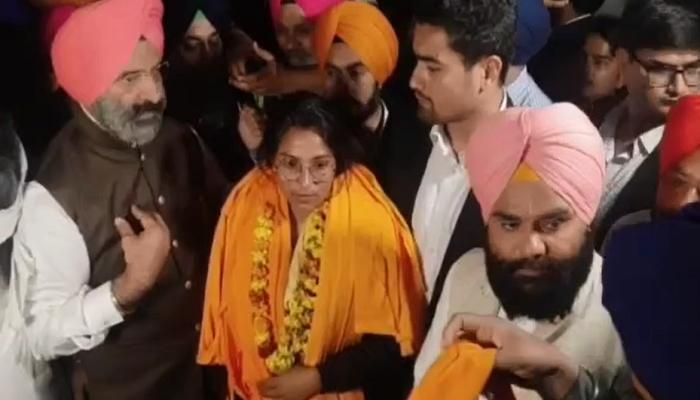 After activist Nodeep Kaur, who was taken to police custody, was released, a report stated that her medical examination revealed injuries.
