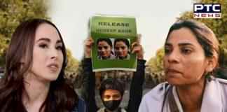 Dalit activist Nodeep Kaur taken to police custody; Meena Harris comes in support