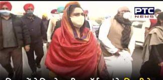 Ghazipur border Latest Update