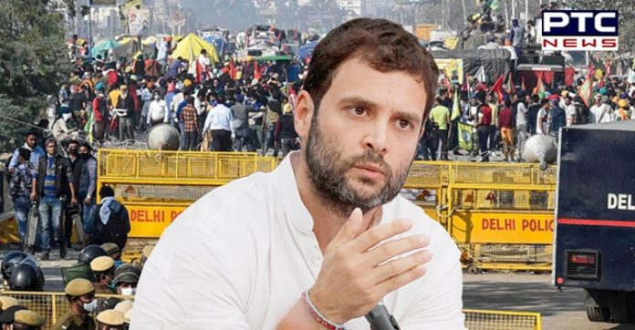 Government needs to listen as farmers aren't going away: Rahul Gandhi