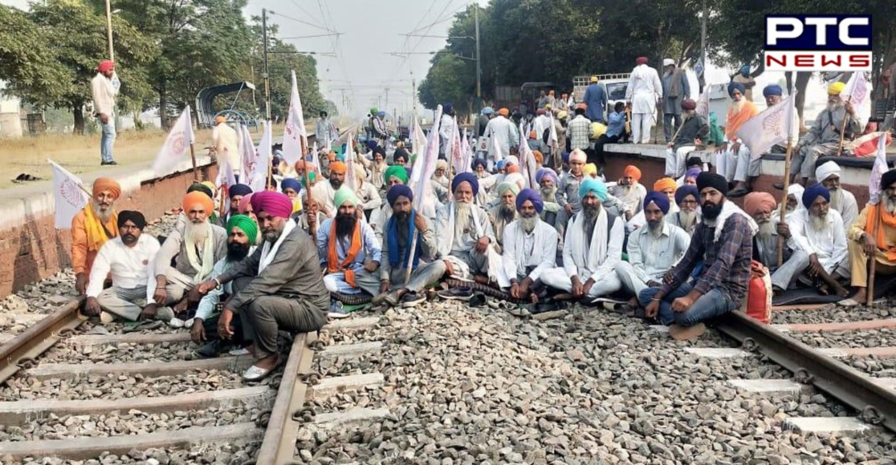 Farmers' 'Rail Roko' Protest : Farmers to hold 4-hour protest at 12 PM