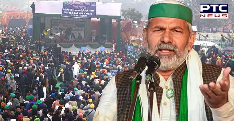 Farmers agitation will not end anytime soon: Rakesh Tikait