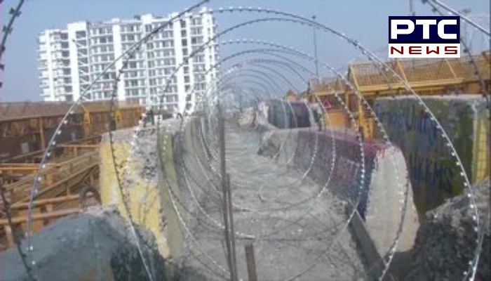 On construction of concrete barricades and fencing at borders, Delhi Police Commissioner SN Srivastava cited violence in Delhi on Republic Day.