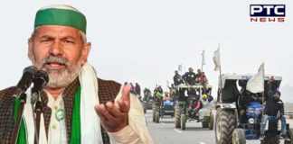 Rakesh Tikait threatens Centre to go on pan-country tractor rally