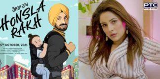 Shehnaaz Gill to make debut with Diljit Dosanjh's production 'Honsla Rakh'