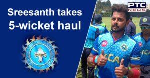Sreesanth bags 5 wickets as Kerala win two in two