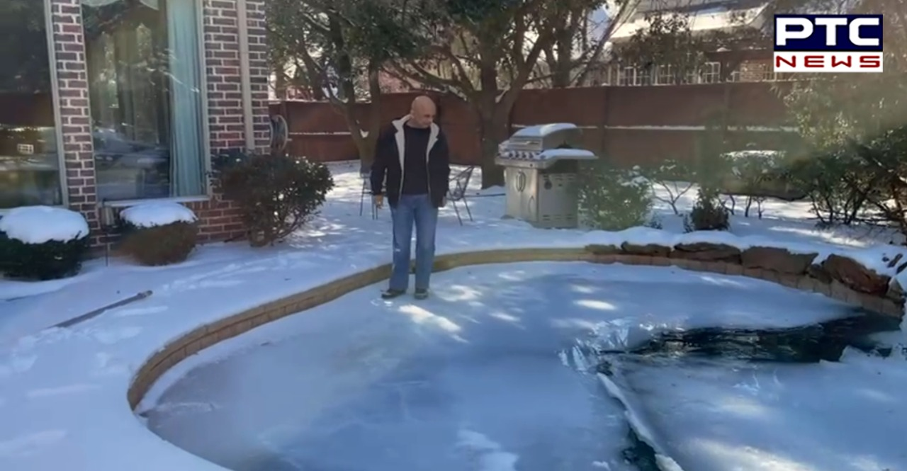 Texas is dealing with a severe winter storm where people facing outrage of heavy snowfall. Likewise, McKinney in Texas witnessing freak climate.