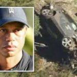 Tiger Woods Accident ।Tiger Woods in hospital after California 'major' car crash