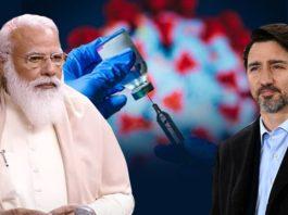 Justin Trudeau speaks with PM Narendra Modi for COVID-19 vaccine