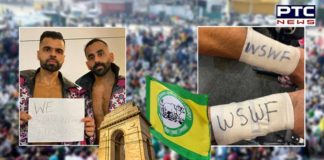 WWE stars The Singh Brothers extend support to farmers protest in India