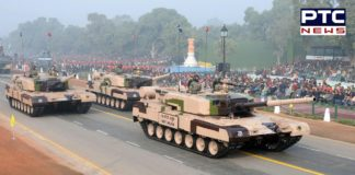 PM Narendra Modi hands over Arjun battle tank to Indian Army