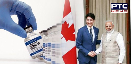 India to supply 5 lakh doses of coronavirus vaccine to Canada