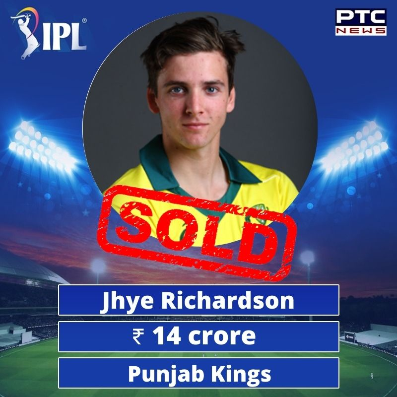 IPL 2021 Player Auction: Chris Morris, Glenn Maxwell, and Jhye Richardson were among the big bidding wars.