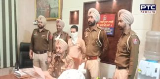 Zirakpur police Arrested accused of selling weapons parts , Magazine Recovered