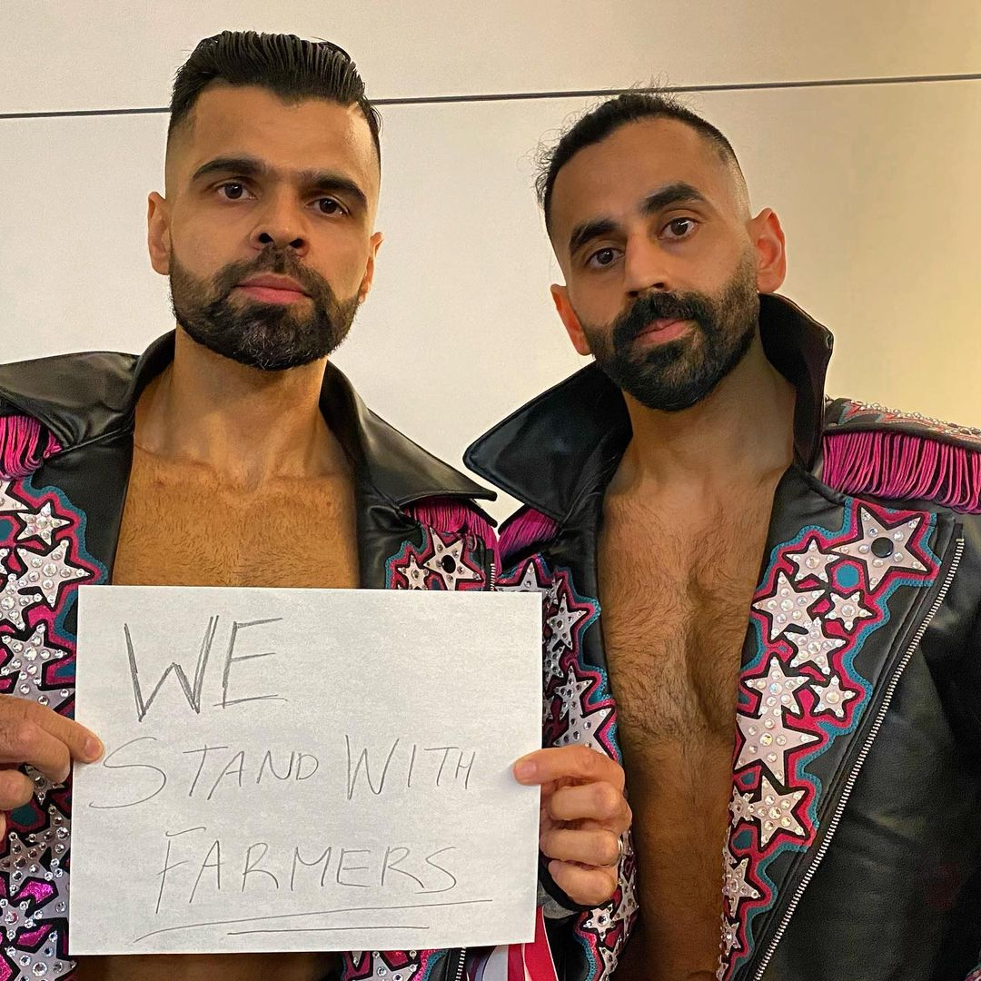 Farmers protest: WWE stars The Singh Brothers expressed solidarity with farmers. Even as Jinder Mahal had supported farmers.