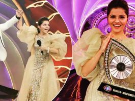 Bigg Boss 14 winner : Rubina Dilaik lifts the trophy and takes home prize money of Rs 36 lakh