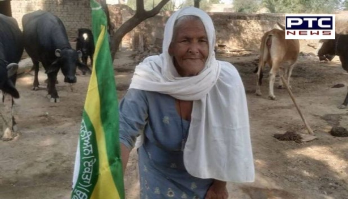 Arvind Kejriwal honours Punjab's 'dadi' mohinder kaur ji support to farmers protest