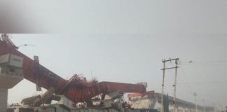 gurugram flyover collapse 28 march