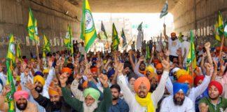 farmer protest in malout