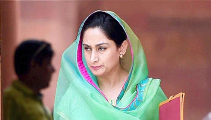 Akali Leader Harsimrat Kaur Badal