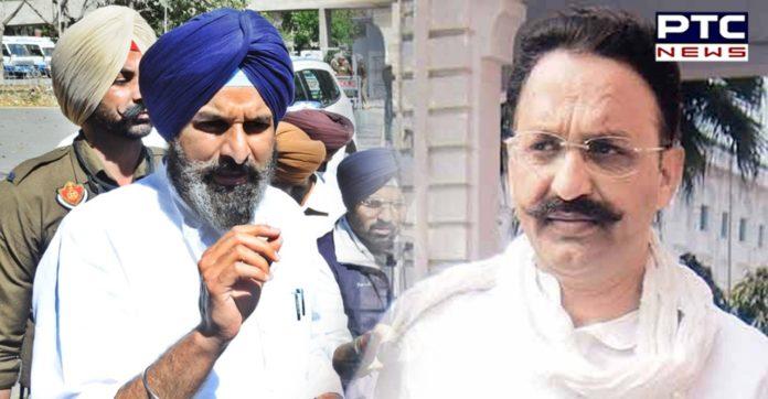 Explain why Mukhtiar Ansari is being kept as 'state guest': Bikram Majithia asks Congress