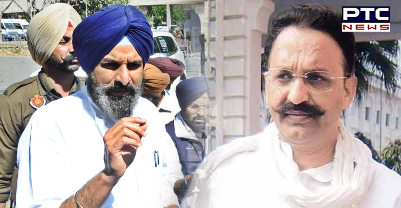 Bikram Majithia asks Cong govt to explain why Mukhtiar Ansari is being kept as a 'state guest' in Punjab for two years