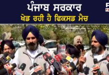 Captain Govt playing red carpet for anti-farmer governor fixed match : Bikram Singh Majithia