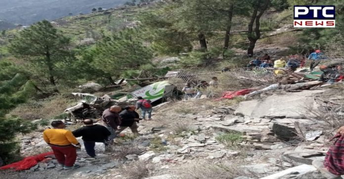 Chamba Road Accident: 7 dead as private bus falls into gorge