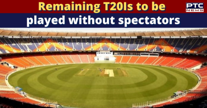 IND vs ENG 2021: Remaining India-England T20Is to be played behind closed doors