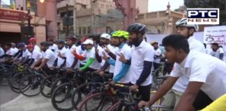 Cycle rally organised in Amritsar to celebrate 75 years of independence