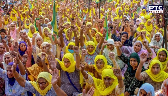 Farmers celebrate Shaheed Diwas' Bhagat Singh, Rajguru and Sukhdev at the borders