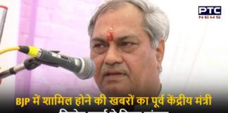 Vinod Sharma on Joining BJP