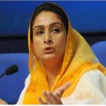 Harsimarat Kaur Badal asks Cong mps to impress on Cong govt in Punjab to reduce VAT on petro products