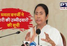 Trinamool Congress Candidates List